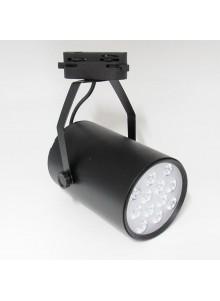 Lámpara spot riel led 12W...