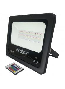 Reflector led 100W RGB...