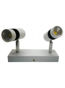 Lámpara spot led 3W doble...